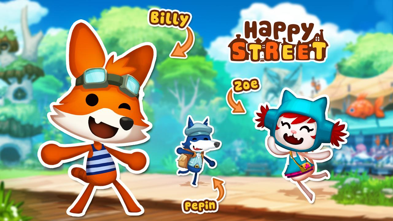 Happy Street - screenshot