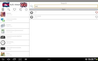 Screenshot of Audio Khmer