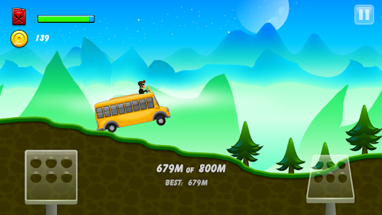 Hill Racing: mountain climb- screenshot thumbnail