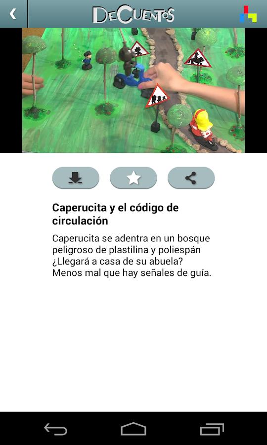 DeCuentos descarga tus cuentos - screenshot