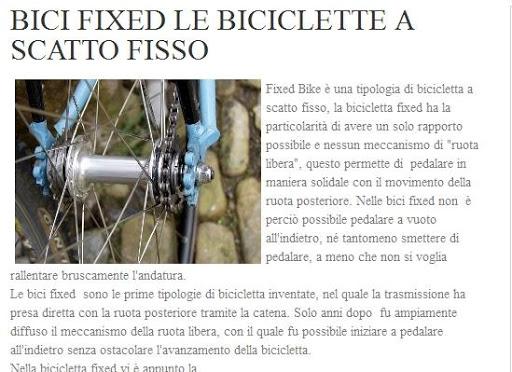 Fixed Bike Italia