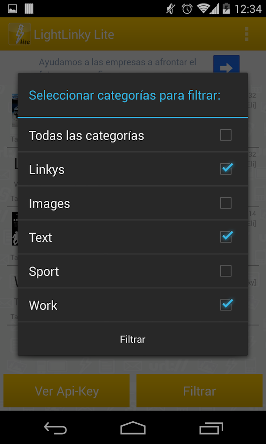 LightLinky Lite- screenshot