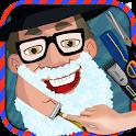 loco Peluquero afeitado Salon icon