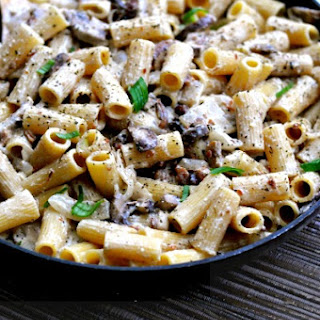 Chicken Mushroom Bacon Pasta Recipes.