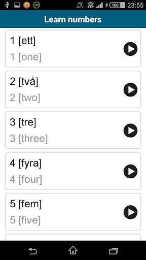 玩免費教育APP|下載Learn Swedish - 50 languages app不用錢|硬是要APP