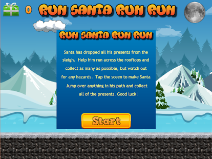 Run Santa run run- screenshot thumbnail