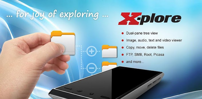 X-plore File Manager Apk 3.15