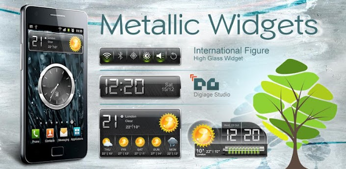 HD Metallic Widgets apk