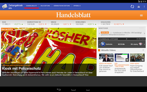 Zeitungskiosk - screenshot thumbnail