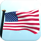 US Flag 3D Live Wallpaper