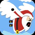 A Christmas Santa icon