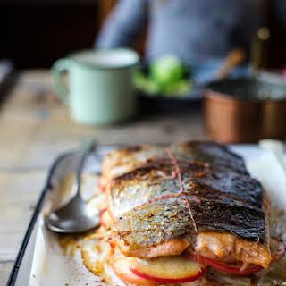 Stuffed Salmon Sauce Recipes.