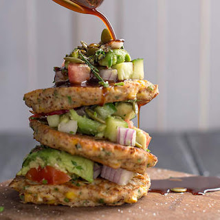 Corn Fritters with Avocado Salsa Recipe