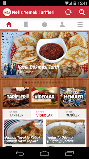 Nefis Yemek Tarifleri Aplicaciones (apk) descarga gratuita para Android/PC/Windows screenshot