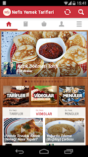 Aplicații Nefis Yemek Tarifleri (.apk) descarcă gratuit pentru Android/PC/Windows screenshot