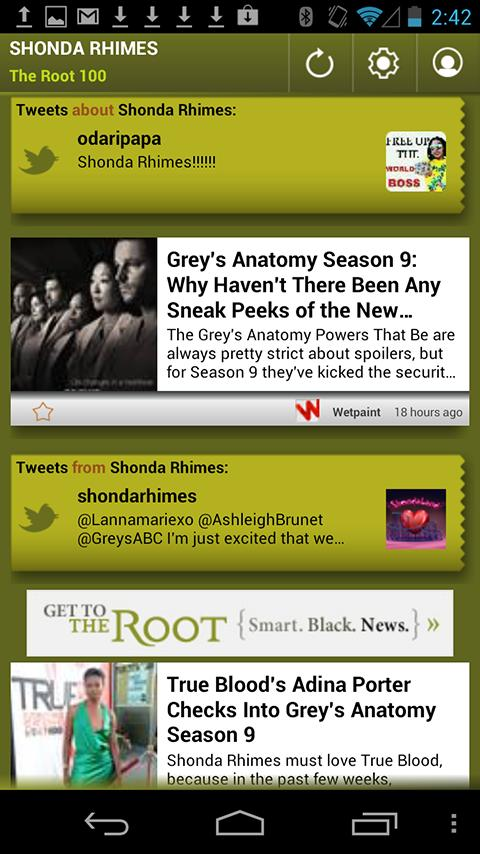 Shonda Rhimes: The Root 100 - screenshot