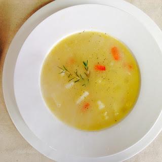 Peruvian Sopa de Papa (Potato Soup)
