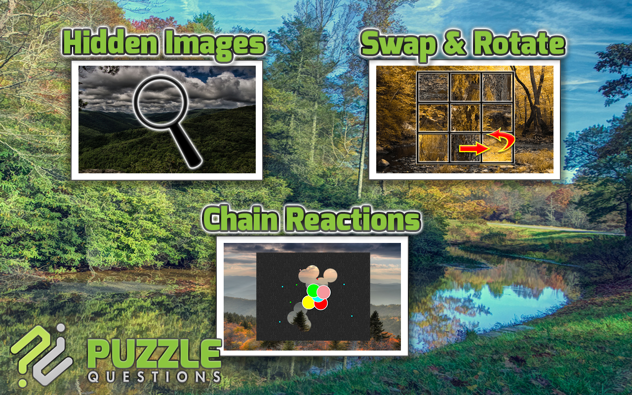 Blue Ridge Parkway Puzzle Game- screenshot