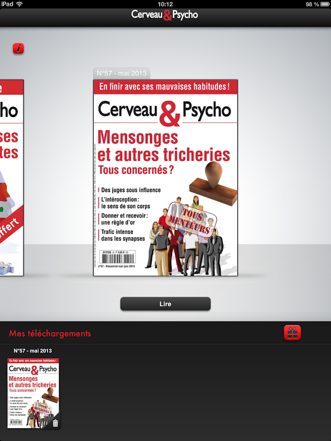 Cerveau & Psycho - screenshot
