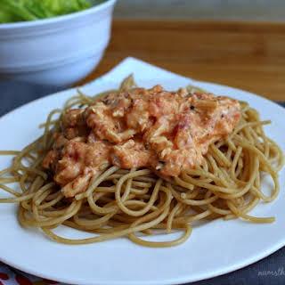 Creamy Italian Chicken Pasta.