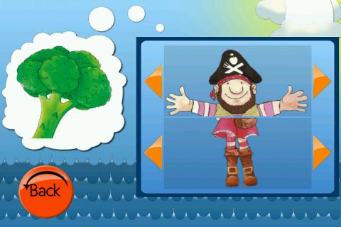 The Cuddle Pirate Puzzles- screenshot