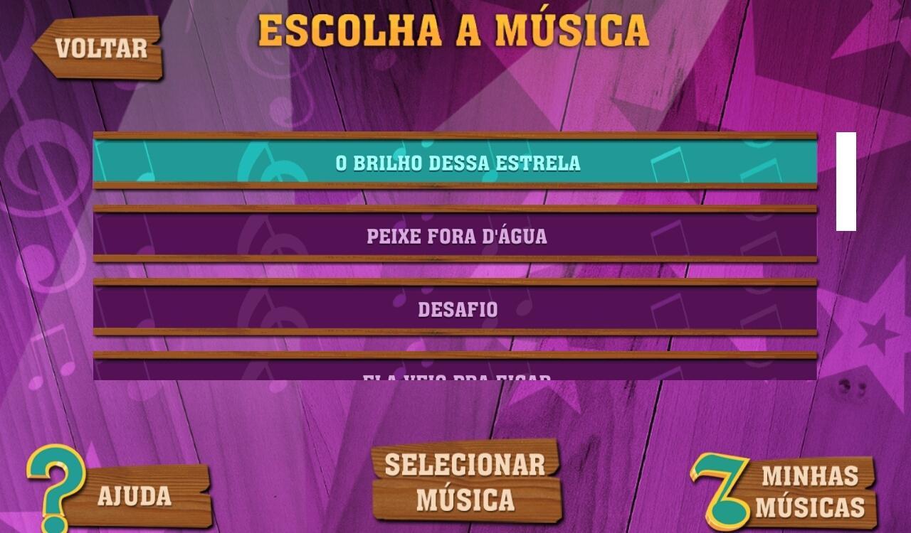 Gaby Estrella Karaokê - screenshot