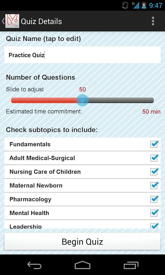 ATI RN Mentor - NCLEX Prep - screenshot
