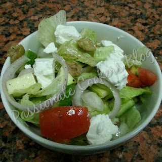 Greek Salad with Feta Cheese Recipe