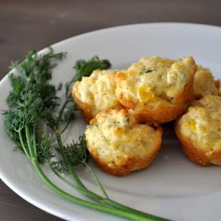 Corn Dill Mini Muffins
