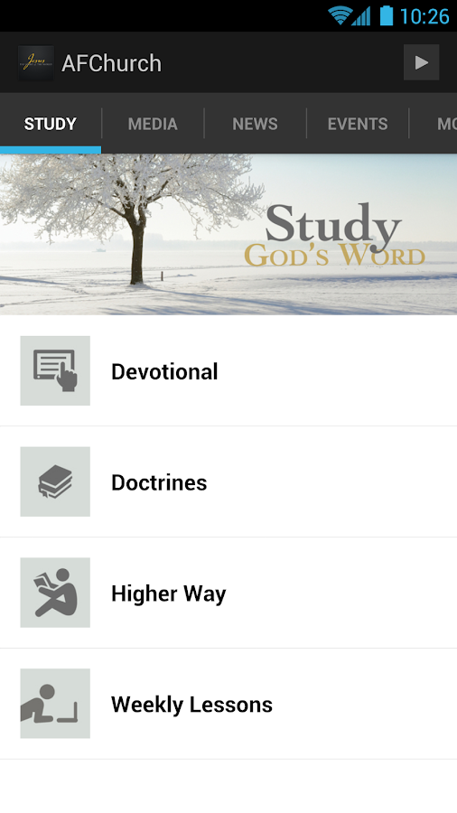 Apostolic Faith - screenshot
