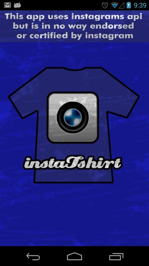 InstaTshirt Social T-Shirts - screenshot
