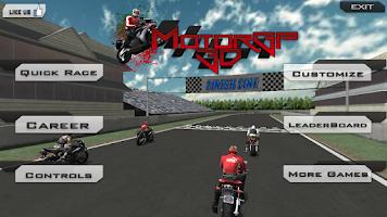 Screenshot of Motor Gp Super Bike Race