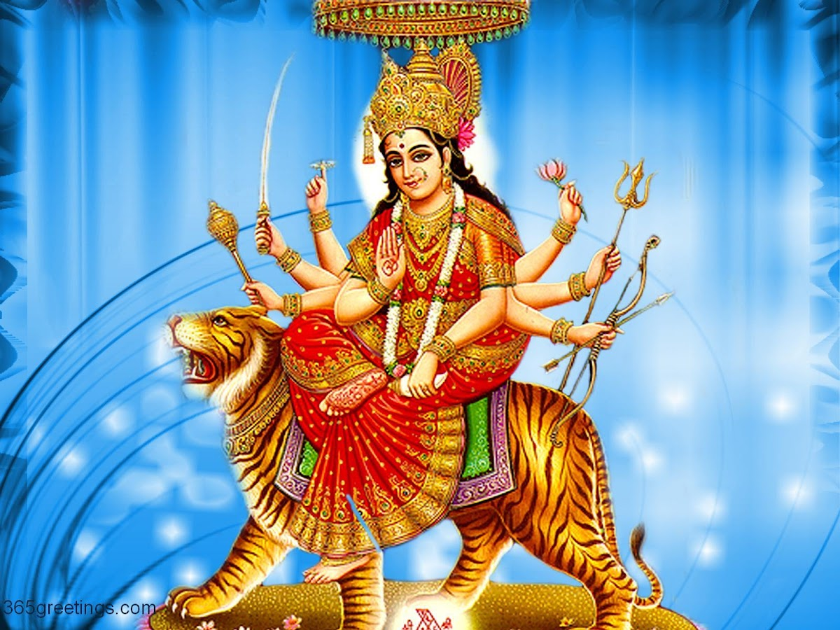 Wallpaper download durga maa - Durga Sherawali Wallpaper Screenshot