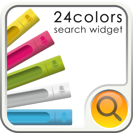 個人化必備App|24color Search Widget LOGO-綠色工廠好玩App