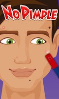 Screenshot of No Pimple - Fun games
