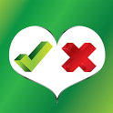 Yes or No Dating App icon