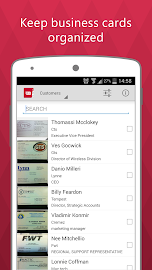 Business Card Reader Pro Screenshot 1