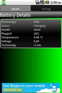 Battery Details- screenshot thumbnail