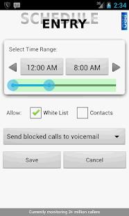 Call Control - Call Blocker - screenshot thumbnail