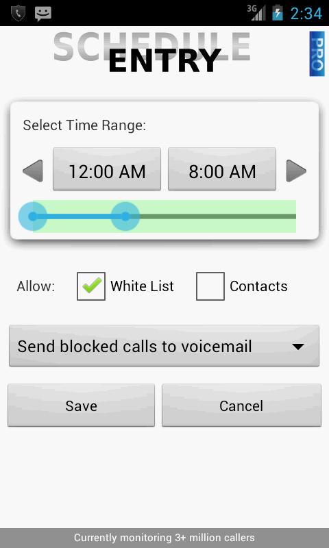 Call Control - Call Blocker - screenshot