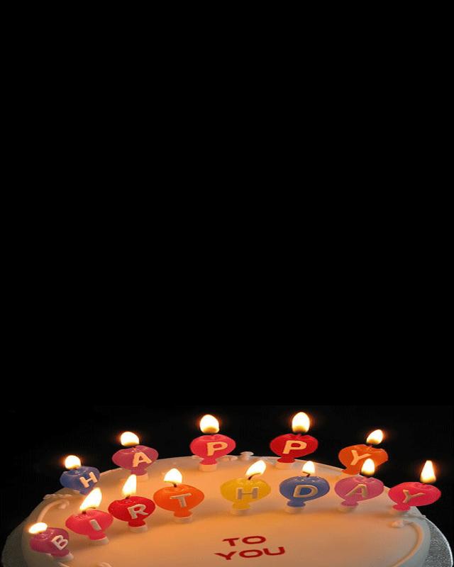Birthday Cake Photo Frame My Blog