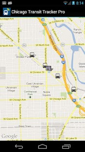 Chicago Transit Tracker Pro- screenshot thumbnail