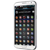 Screenshot of Krom icons pack