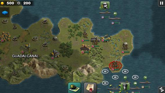 Glory of Generals :Pacific HD - screenshot