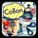 ふきだし&切り抜き正方形コラージュ Collon(コロン) icon