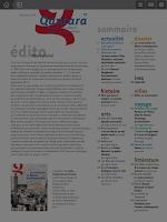 Screenshot of Qantara Magazine