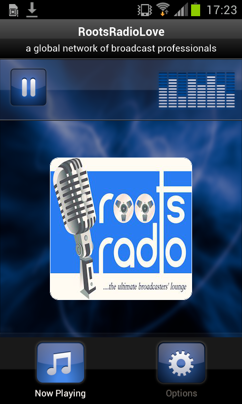 RootsRadioLove- screenshot