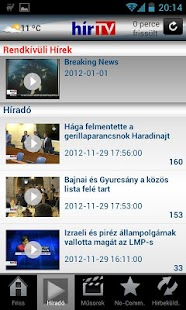 HírTV- screenshot thumbnail