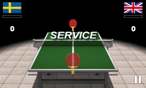 Virtual Table Tennis 3D Screenshot