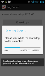 Log Eraser - screenshot thumbnail